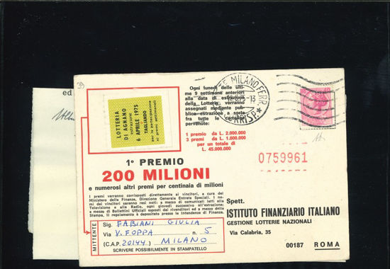 Immagine di 1075 - SIRACUSANA 40 L. FALSO DI MILANO