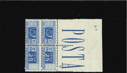 Immagine di 66 - PACCHI POSTALI 25 C.
