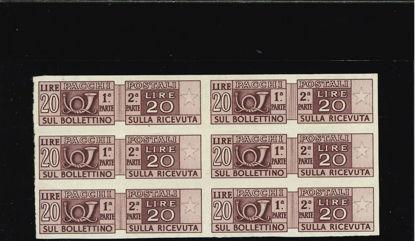 Immagine di 74d - PACCHI POSTALI 20 L.