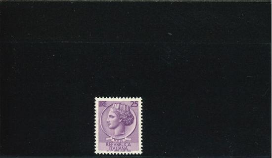 Immagine di 769 - SIRACUSANA S I 25 L.