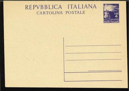 Immagine di 133 - CARTOLINA POSTALE -  C133