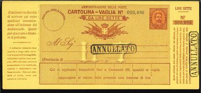 Immagine di 8 - CARTOLINE VAGLIA -  V8
