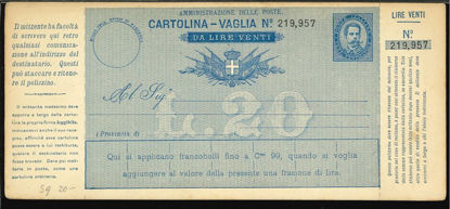 Immagine di 13B - CARTOLINE VAGLIA -  V13B
