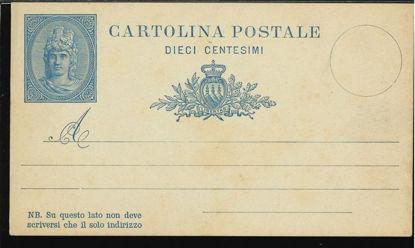 Immagine di 1A - CARTOLINA POSTALE -  C1A