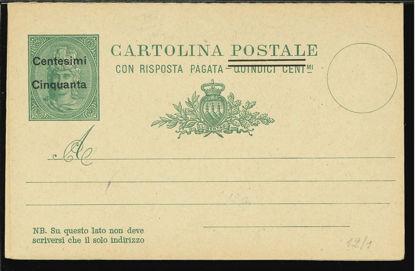 Immagine di 9a - CARTOLINA POSTALE -  C9a