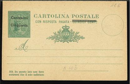 Immagine di 9b - CARTOLINA POSTALE -  C9b