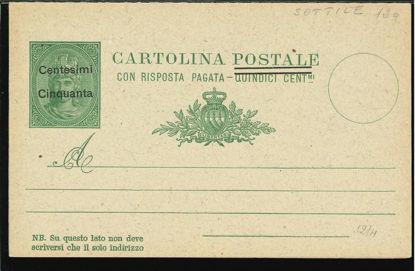 Immagine di 9c - CARTOLINA POSTALE -  C9c