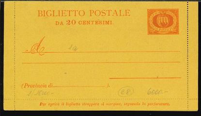 Immagine di 1 - BIGLIETTI POSTALI -  B1