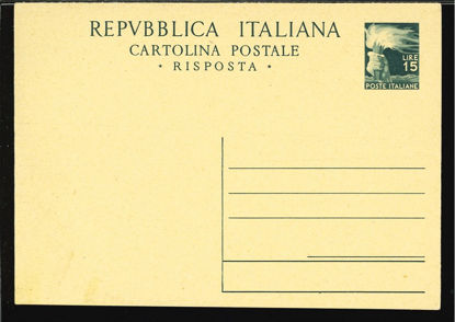 Immagine di 142 - CARTOLINA POSTALE -  C142