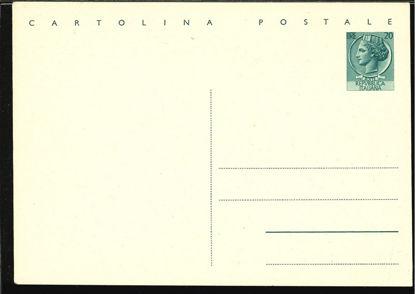 Immagine di 154 - CARTOLINA POSTALE -  C154