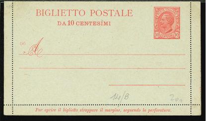 Immagine di 11A - BIGLIETTI POSTALI -  B11A