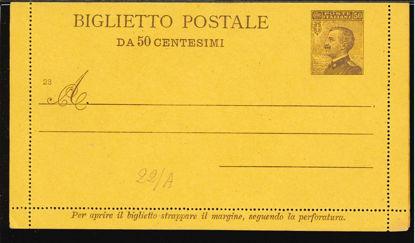 Immagine di 18 - BIGLIETTI POSTALI -  B18