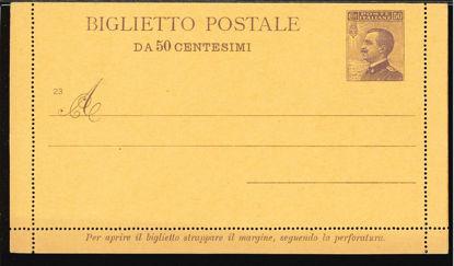 Immagine di 18A - BIGLIETTI POSTALI -  B18A