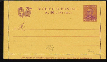Immagine di 25 - BIGLIETTI POSTALI -  B25
