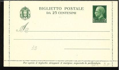 Immagine di 27 - BIGLIETTI POSTALI -  B27