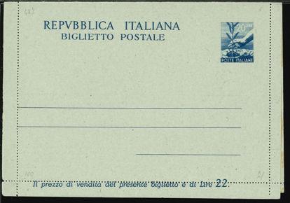 Immagine di 43 - BIGLIETTI POSTALI -  B43