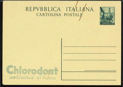 Immagine di 9 - INTERI PUBBLICITARI - CARTOLINE -  R9