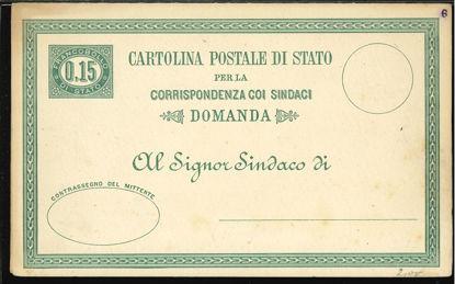 Immagine di 2 - CARTOLINE POSTALI DI SERVIZIO -  S2
