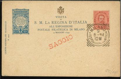 Immagine di 10 - CARTOLINA DI COMMISSIONE PRIVATA -  CC10
