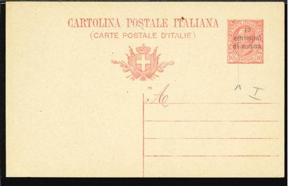 Immagine di 2a - CARTOLINA POSTALE -  C2a