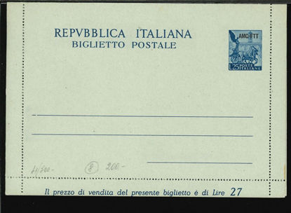 Immagine di 6 - BIGLIETTI POSTALI -  B6