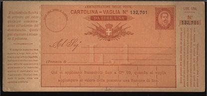 Immagine di 2A - CARTOLINE VAGLIA -  V2A