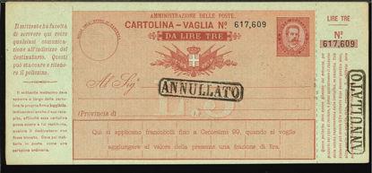 Immagine di 4C - CARTOLINE VAGLIA -  V4 C