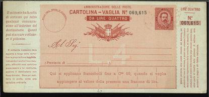 Immagine di 5A - CARTOLINE VAGLIA -  V5A