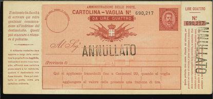 Immagine di 5C - CARTOLINE VAGLIA -  V5C