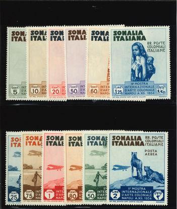 Immagine di 193 - ARTE COLONIALE + POSTA AEREA 1/6