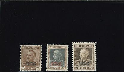 Immagine di 116 - FRANCOBOLLI D'ITALIA SOVRASTAMPATI