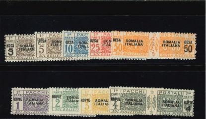"""Immagine di 21 - """"SOVR.""""SOMALIA ITALIANA"""" (NERO) IN BESA"""""""