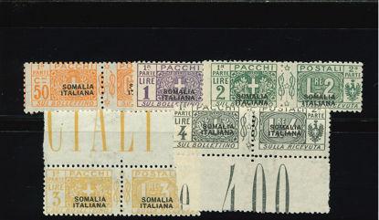 Immagine di 10 - SOVR. SOMALIA ITALIANA NERO NON EMESSI CERT