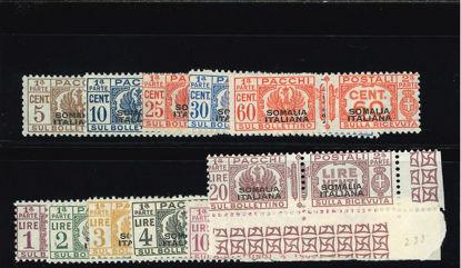 Immagine di 54 - SOVR. SOMALIA ITALIANA IN NERO ESCLUSO N 58 CERT