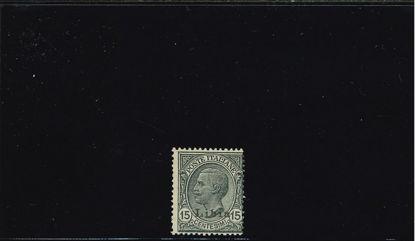 Immagine di 33 - FRANC.ITAL,SOVR.LIBIA 15C. GRIGIO I O II TIPO