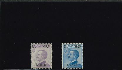 Immagine di 38I - FRANCOBOLLI 1912 SOVR. II TIPO