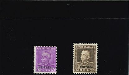 Immagine di 136 - FRANCOBOLLI ITALIA CON SOVRASTAMPA
