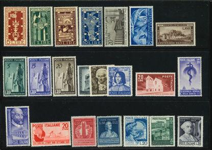 Immagine di 594 - ANNATA COMPLETA VAL.22 - 1949