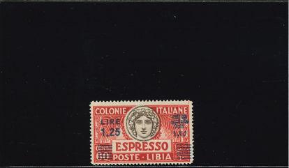 Immagine di 17 - TIPO DEL N. 12 DENT. 14 1,25 SU 60C.