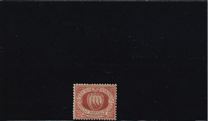 Immagine di 15 - STEMMA 15 c. carminio bruno VAL. 1