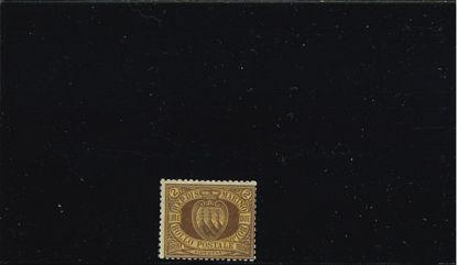 Immagine di 21 - STEMMA  2 L. bruno su arancio VAL. 1