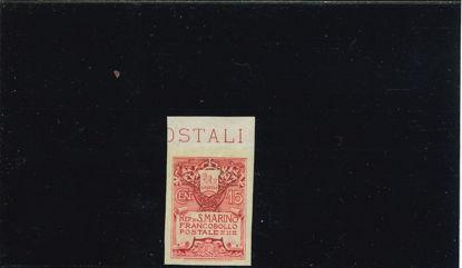 Immagine di 48A - STEMMA 15 c. rosa N.D. VAL. 1