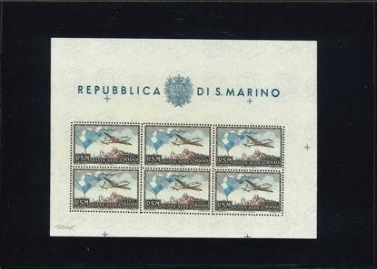 Immagine di 24 - L. 1.000 AEREO I° - BANDIERA VAL. 1