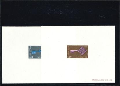 Immagine di 185 - EUROPA 68 PROVA DI LUSSO 2 BF