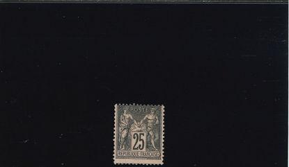 Immagine di 97 - VALORI COMPLEM. 25 c.NERO ROSA