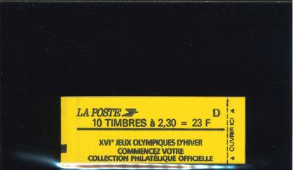 Immagine di 2614C6 - OLIMPIADI+ LETTERA D 23 F