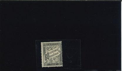 Immagine di 21 - VALORE IN CARTIGLIO 60c.NERO - CERT.