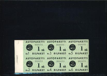 Immagine di 1HB - AUTOPAKETTI IN LIBRETTO 1 MK
