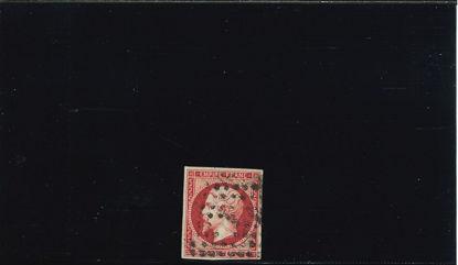 Immagine di 17b - NAPOLEONE III 80 c CARMINIO SCURO