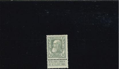 Immagine di 78 - RE LEOPOLDO II 50 C GRIGIO